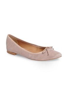 Corso Como 'Recital' Pointy Toe Flat (Women)