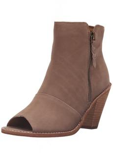 Corso Como Women's Tameka Ankle Bootie Mid-Brown Nubuck  M US