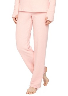 Cosabella Aosta Fleece Straight-Leg Pants  Rosa Sorbetto