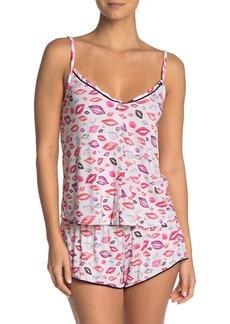 Cosabella Aubrie Lips Print Pajama Camisole