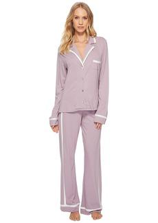 Cosabella Bella Amore Long Sleeve Top Pants PJ Set