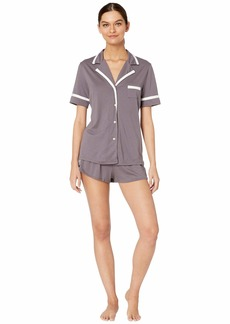 Cosabella Bella Amore Short Sleeve Top Boxer PJ Set