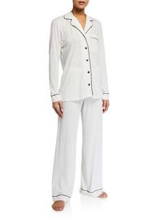 Cosabella Bella Contrast-Trim Pajama Set