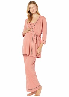 Cosabella Bella Maternity Three-Piece PJ Set