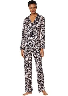 Cosabella Bella Print Long Sleeve Top Pants Set