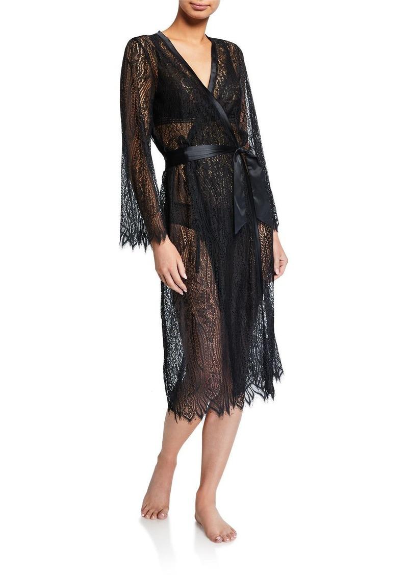 Cosabella Clara Semisheer Lace Robe