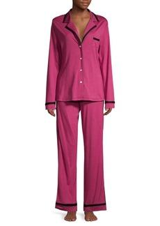 Cosabella Contrast-Trim Pajamas