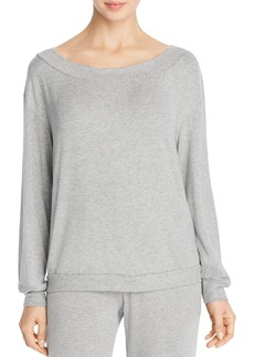 Cosabella Alessandra Rib Knit Long-Sleeve Top