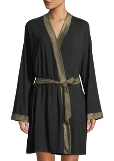 Cosabella Becca Robe with Lurex Trim