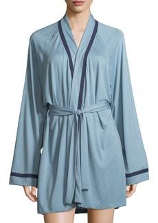 Cosabella Bella Contrast-Trim Robe