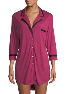 Cosabella Bella Long-Sleeve Sleepshirt