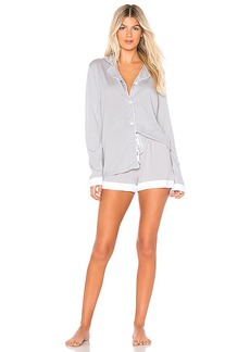 Cosabella Bella Long Sleeve Top Boxer Set PJ