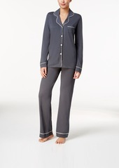 Cosabella cosabella bella satin trim long sleeve pajama set amore9641 abv3af8ef23 a
