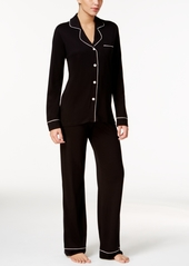 Cosabella cosabella bella satin trim long sleeve pajama set amore9641 online only abv2ac8861c a