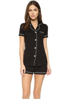 Cosabella Bella Short Sleeve Boxer PJ Set