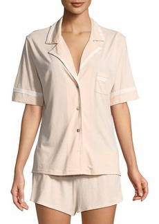 Cosabella Bella Solid Shortie Pajama Set