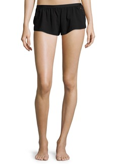 Cosabella Bisou Lace-Inset Lounge Shorts