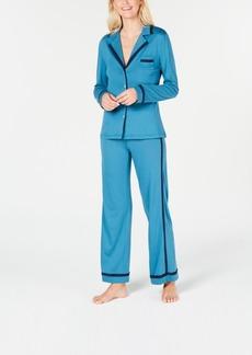 Cosabella Contrast-Trim Soft Pajama Set AMORE9541