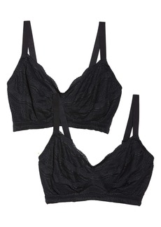Cosabella Dolce Curvy 2-Pack Bralettes