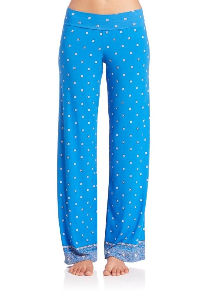Cosabella Jolene Printed Pajama Pants