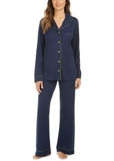 Cosabella Long-Sleeve Top & Pants Pajamas Set