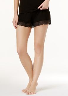 Cosabella Minoa Sheer-Lace-Trim Pajama Shorts MINSW0841