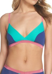 Cosabella Mixed Mesh Crossover Bralette