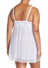 Cosabella 'Never Say Never' Babydoll Chemise (Plus Size)
