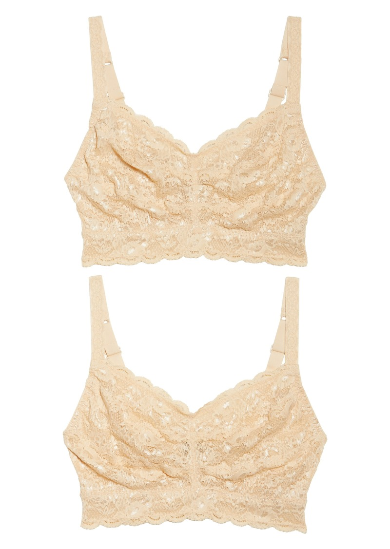 021cdc95905f74 Cosabella Cosabella Never Say Never Curvy Sweetie 2-Pack Bralettes ...