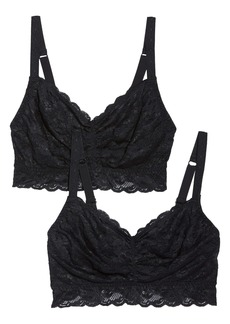 Cosabella Never Say Never Sweetie 2-Pack Bralettes (Plus Size)