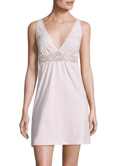 Cosabella Sonia Lace-Inset Chemise