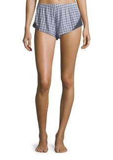 Cosabella Sweet Dreams Geometric-Print Lounge Shorts