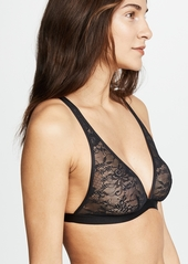Cosabella Tall Triangle Lace Bralette with Nippies