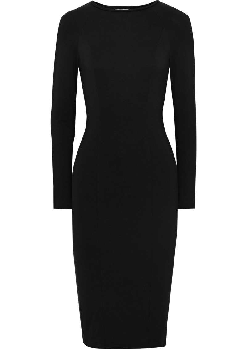 Cosabella Woman Brera Stretch-jersey Dress Black