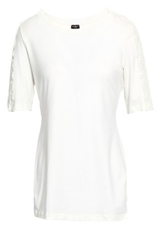 Cosabella Woman Cotton-blend Jersey Pajama Top Ivory