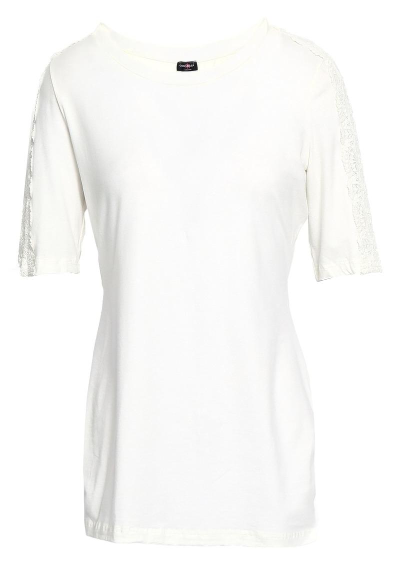 Cosabella Woman Cotton-blend Jersey Pajama Top Ivory