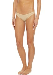 Cosabella Woman Everyday Set Of Seven Stretch-cotton Jersey Low-rise Briefs Beige