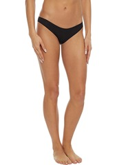 Cosabella Woman Everyday Set Of Seven Stretch-cotton Jersey Low-rise Briefs Black