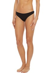 Cosabella Woman Everyday Set Of Seven Stretch-cotton Jersey Low-rise Thongs Black