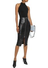 Cosabella Woman Fetherston Stretch-jersey Halterneck Thong Bodysuit Black