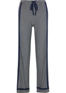 Cosabella Woman Hustle Houndstooth Stretch-modal Pajama Pants Navy