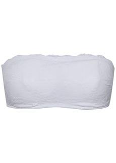 Cosabella Woman Lace Bandeau Bra White