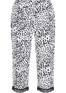 Cosabella Woman Majestic Cropped Leopard-print Modal-blend Pajama Pants Animal Print