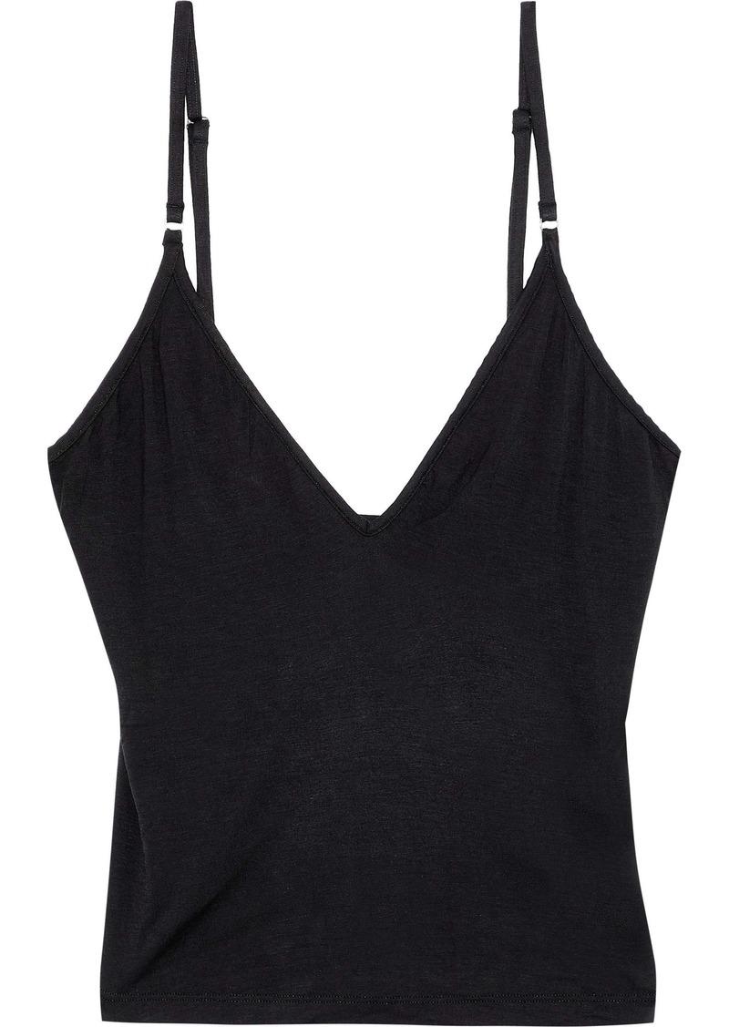 Cosabella Woman Minimalista Stretch-jersey Camisole Black