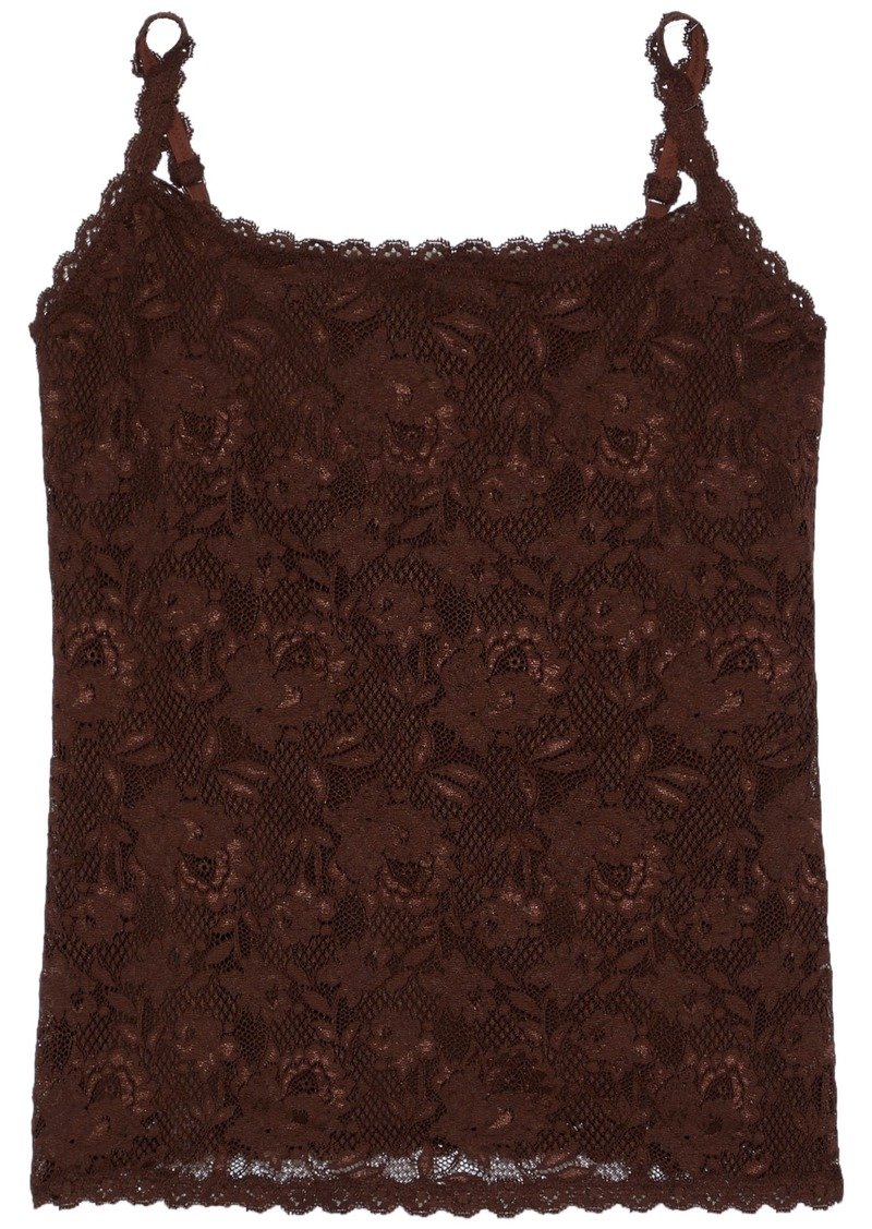Cosabella Woman Never Say Never Sassie Lace Camisole Chocolate