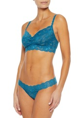 Cosabella Woman Never Say Never Sweetie Stretch-lace Bralette Azure