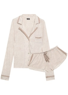 Cosabella Woman Printed Pima Cotton And Modal-blend Jersey Pajama Set White