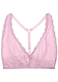 Cosabella Woman Sweet Treats Stretch-lace Soft-cup Bra Baby Pink