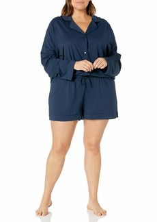 Cosabella Women's Bella Long Sleeve Top & Boxer Pajama Set