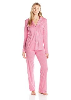 Cosabella Women's Bella Ls Top and Pant Pj Set - Printed